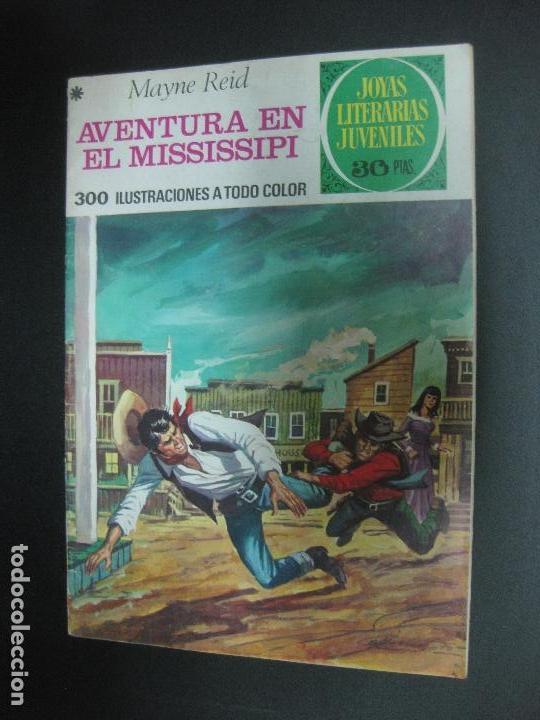 AVENTURA EN EL MISSISSIPI. MAYNE REID. JOYAS LITERARIAS JUVENILES Nº 159. BRUGUERA 1978 (Tebeos y Comics - Bruguera - Joyas Literarias)