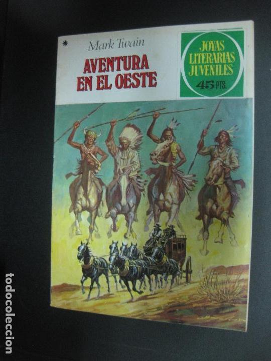 AVENTURA EN EL OESTE. MARK TWAIN. JOYAS LITERARIAS JUVENILES Nº 58. BRUGUERA 1979 (Tebeos y Comics - Bruguera - Joyas Literarias)