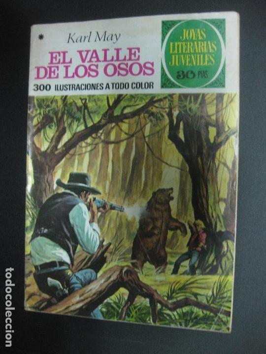 EL VALLE DE LOS OSOS. KARL MAY. JOYAS LITERARIAS JUVENILES Nº 141. BRUGUERA 1978 (Tebeos y Comics - Bruguera - Joyas Literarias)