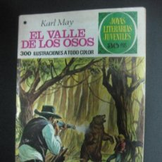 Tebeos: EL VALLE DE LOS OSOS. KARL MAY. JOYAS LITERARIAS JUVENILES Nº 141. BRUGUERA 1978. Lote 73998019