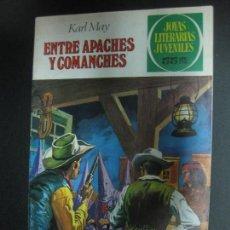 Tebeos: ENTRE APACHES Y COMANCHES. KARL MAY. JOYAS LITERARIAS JUVENILES Nº 36. BRUGUERA 1981. Lote 73998123