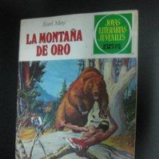 Tebeos: LA MONTAÑA DE ORO. KARL MAY. JOYAS LITERARIAS JUVENILES Nº 43. BRUGUERA 1979. Lote 73998239