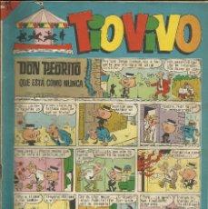 Tebeos: COMIC TIO VIVO AÑO IX EPOCA 2º Nº 275, 13 JUNIO 1966. Lote 74021323