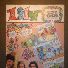 Tebeos: TEBEO - LILY - REVISTA JUVENIL FEMENINA - AÑO XII - Nº 518 - BRUGUERA - 1971 . Lote 74341043