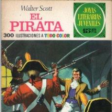 Tebeos: JOYAS LITERARIAS JUVENILES - Nº 6 - EL PIRATA - WALTER SCOTT - BRUGUERA - AÑO 1970.. Lote 74452939