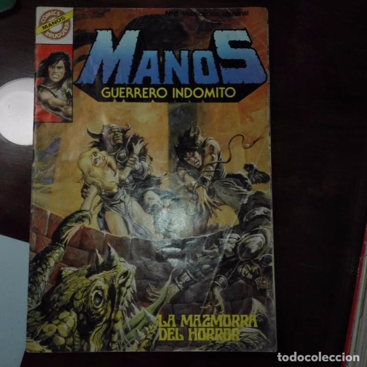 MANOS GUERRERO INDOMITO (Tebeos y Comics - Bruguera - Otros)