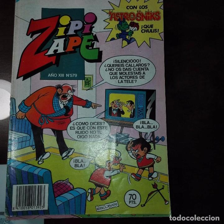 ZIPI Y ZAPE AÑO XIII NUM 579 (Tebeos y Comics - Bruguera - Otros)
