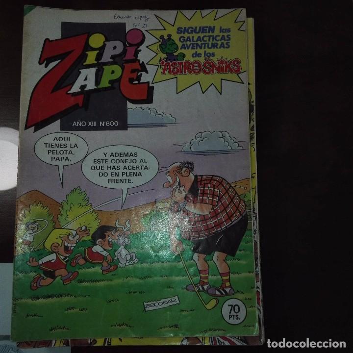 ZIPI Y ZAPE AÑO XIII NUM 600 (Tebeos y Comics - Bruguera - Otros)