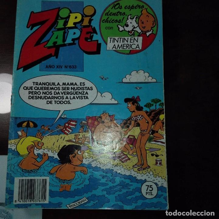 ZIPI Y ZAPE AÑO XIV NUM 633 (Tebeos y Comics - Bruguera - Otros)