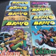 Tebeos: COLECCION BRAVO - EL CACHORRO LOTE DE16 EJEMPLARES. Lote 74723803