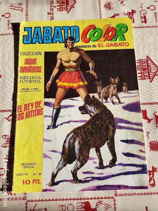 ORIGINAL JABATO SEGUNDA EPOCA EDITORIAL BRUGUERA AÑO 1974 (Tebeos y Comics - Bruguera - Jabato)