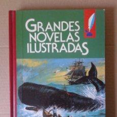 Tebeos: GRANDES NOVELAS ILUSTRADAS, VOLUMEN 10. EDITORIAL BRUGUERA (1985). CUBIERTA DE ANTONIO BERNAL ROMERO. Lote 74765857