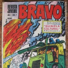 Tebeos: REVISTA JUVENIL BRAVO - BRUGUERA Nº7 -. Lote 75029103
