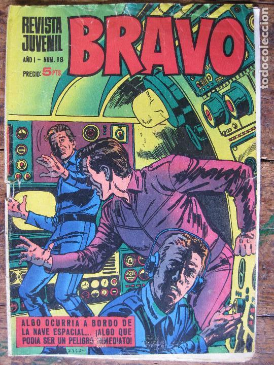 REVISTA JUVENIL BRAVO - BRUGUERA Nº18 - (Tebeos y Comics - Bruguera - Bravo)