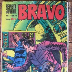 Tebeos: REVISTA JUVENIL BRAVO - BRUGUERA Nº18 -. Lote 75029315