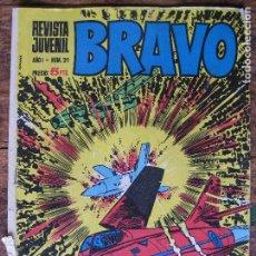 Tebeos: REVISTA JUVENIL BRAVO - BRUGUERA Nº21 -. Lote 75029455