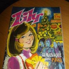 Tebeos: LILY ALMANAQUE PARA 1973 EXCELENTE CONSERVACION. Lote 75069227