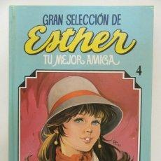 Tebeos: GRAN SELECCIÓN DE ESTHER TOMO Nº 4 - TU MEJOR AMIGA - EDITORIAL BRUGUERA 1985 BUEN ESTADO. Lote 147227202