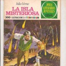 Tebeos: JOYAS LITERARIAS JUVENILES. Nº 13. LA ISLA MISTERIOSA. BRUGUERA 1975. (ST/A7). Lote 75122263