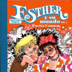 Tebeos: * ESTHER Y SU MUNDO * SEGUNDA PARTE - VOLUMEN 1. Lote 96950600