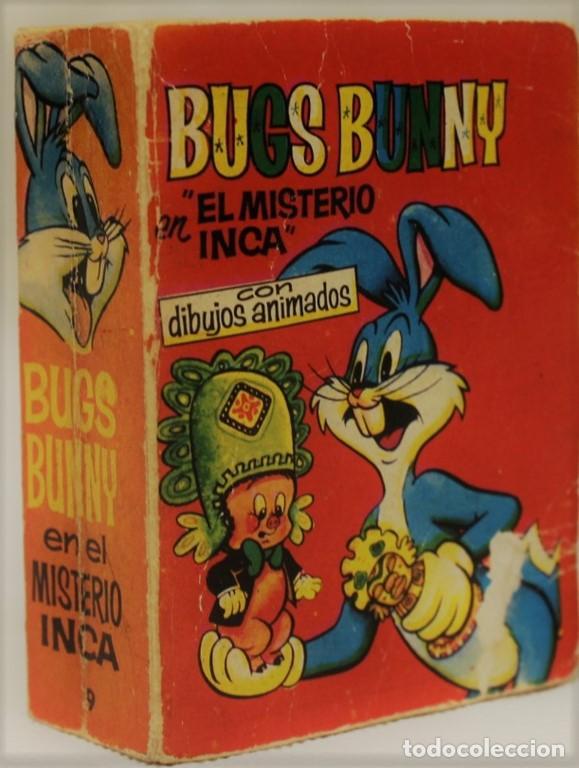 BUGS BUNNY EN EL MISTERIO DEL INCA CON DIBUJOS ANIMADOS. EDITORIAL BRUGUERA, 1968. PRIMERA EDICIÓN. (Tebeos y Comics - Bruguera - Otros)