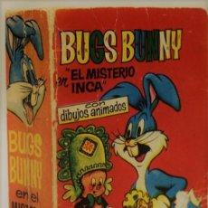 Tebeos: BUGS BUNNY EN EL MISTERIO DEL INCA CON DIBUJOS ANIMADOS. EDITORIAL BRUGUERA, 1968. PRIMERA EDICIÓN.. Lote 75176642
