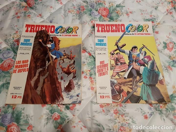 ORIGINAL EL CAPITAN TRUENO SEGUNDA EPOCA 1 Y 2 AÑO 1975 (Tebeos y Comics - Bruguera - Capitán Trueno)