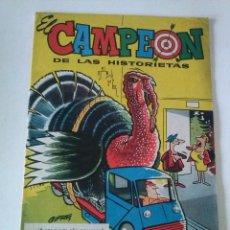Tebeos: EL CAMPEON ALMANAQUE 1961,BRUGUERA ,ORIGINAL,TA. Lote 75678999