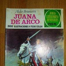 Tebeos: BRUNETTI, ALDO. JUANA DE ARCO. [JOYAS LITERARIAS JUVENILES ; 109]. Lote 75739659