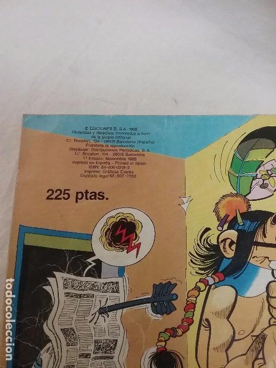 Tebeos: MORTADELO Y FILEMON , BOTONES SACARINO - COLECCIÓN OLE - 1° EDICIÓN AÑO 1988 - Foto 3 - 75805279