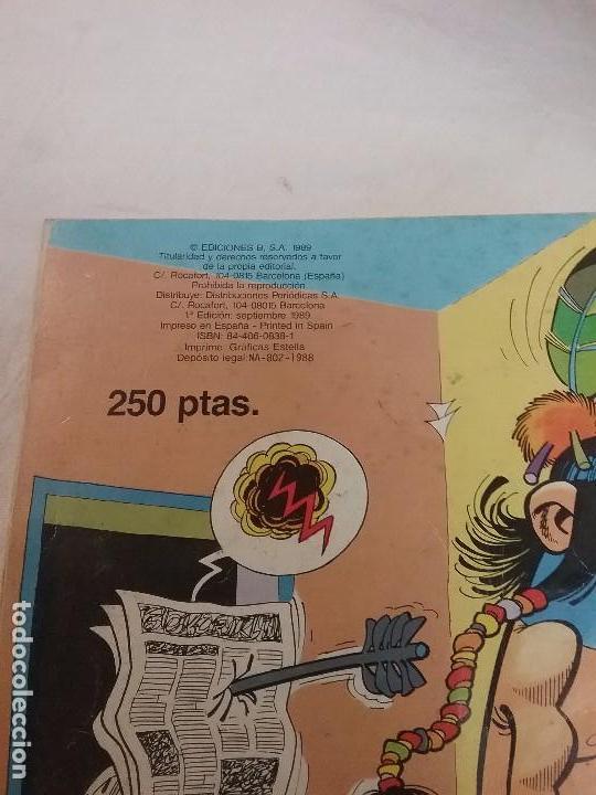 Tebeos: MORTADELO Y FILEMON , BOTONES SACARINO - COLECCIÓN OLE - 1° EDICIÓN AÑO 1989 - Foto 3 - 75804911