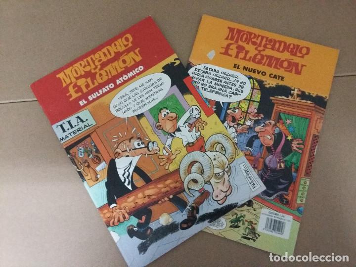 LOTE 2 COMIC MORTADELO Y FILEMON (Tebeos y Comics - Bruguera - Mortadelo)