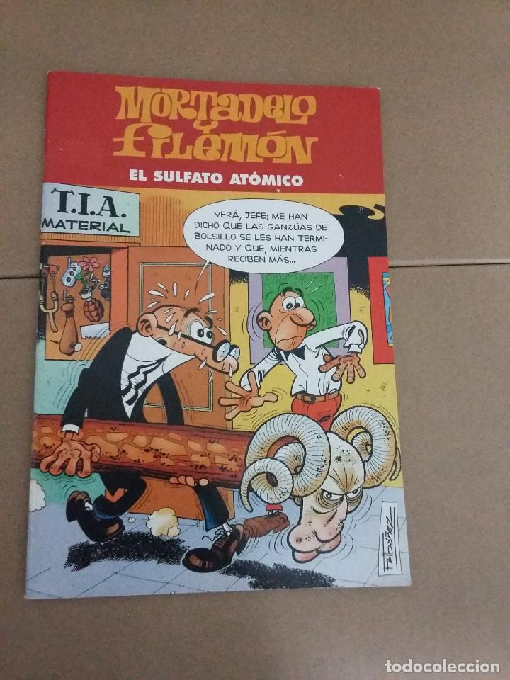 Tebeos: LOTE 2 COMIC MORTADELO Y FILEMON - Foto 2 - 76010231