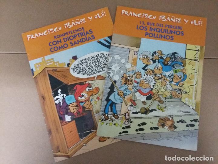 LOTE 2 COMIC FRANCISCO IBAÑEZ Y OLE - ROMPETECHOS Y 13 RUE DEL PERCEBE (Tebeos y Comics - Bruguera - Ole)