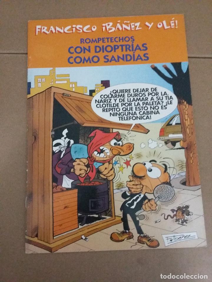 Tebeos: LOTE 2 COMIC FRANCISCO IBAÑEZ Y OLE - rompetechos y 13 rue del percebe - Foto 2 - 79781337