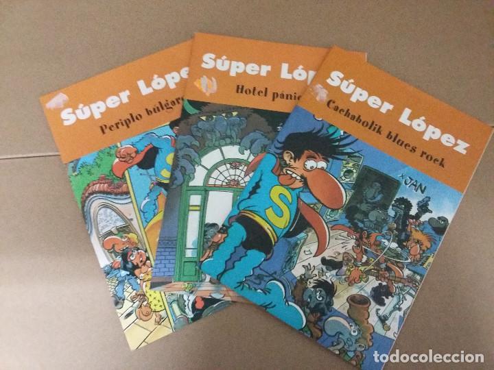 LOTE 3 COMIC SUPER LOPEZ (Tebeos y Comics - Bruguera - Ole)