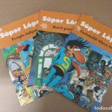 Tebeos: LOTE 3 COMIC SUPER LOPEZ. Lote 76010719