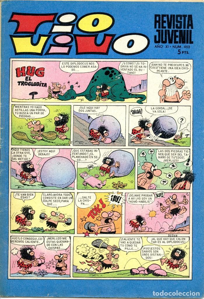 TIO VIVO Nº 452 (1969) (Tebeos y Comics - Bruguera - Tio Vivo)