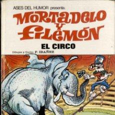 Tebeos: COLECCIÓN ASES DEL HUMOR - EL CIRCO - . Lote 76359299