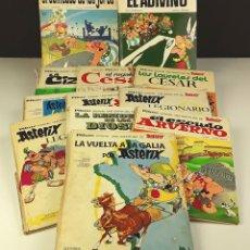 Tebeos: LOTE DE 12 COMICS DE ASTÉRIX. (VER DESCRIPCIÓN). GOSCINNY. EDIT. BRUGUERA. 1968/1973.. Lote 76516851
