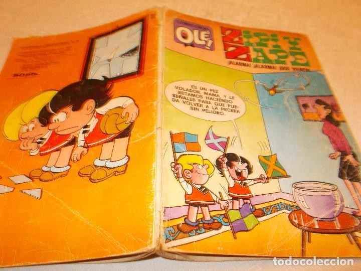 Tebeos: OLÉ nº 133 ZIPI y ZAPE 1ª Edición Bruguera - Foto 2 - 76572971