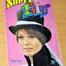 Tebeos: SUPER LILY - Nº 1 - CON PORTADA DE MARISOL - EDITORIAL BRUGUERA - AÑO 1976. Lote 76632095