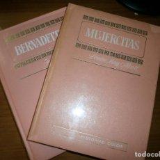 Tebeos: LOTE 2 COLECCIÓN HISTORIAS COLOR - SERIE MUJERCITAS - MUJERCITAS, BERNADETTE - EDT. BRUGUERA, 1973.. Lote 49895579
