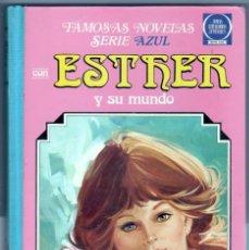 Tebeos: ESTHER Nº 3 FAMOSAS NOVELAS SERIE AZUL - BRUGUERA 1981. Lote 76842003