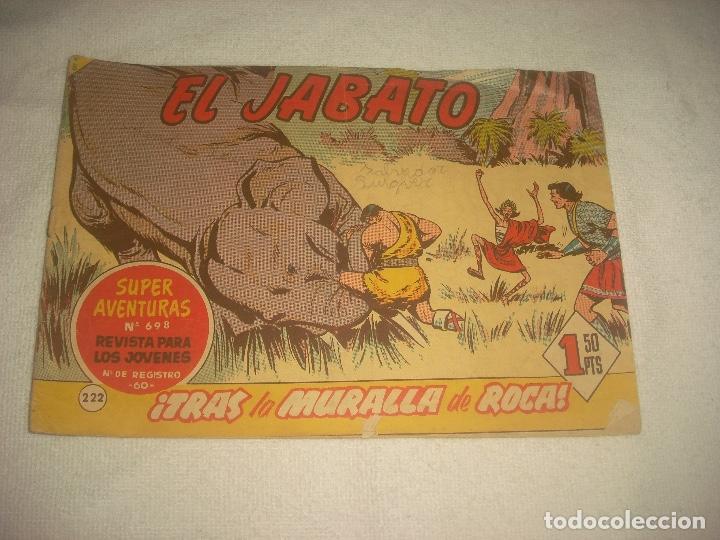EL JABATO N° 222 (Tebeos y Comics - Bruguera - Jabato)