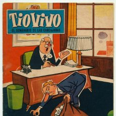 Tebeos: TIO VIVO - 2ª EPOCA - Nº 28 - ED. BRUGUERA - 1961. Lote 77246041