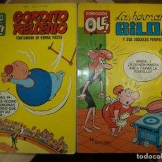 Tebeos: LOTE OLÉ 1ªEDICIÓN 1971.LAS HERMANAS GILDA Y GORDITO RELLENO.NUMERADOS EN LOMO.BRUGUERA.. Lote 77247421