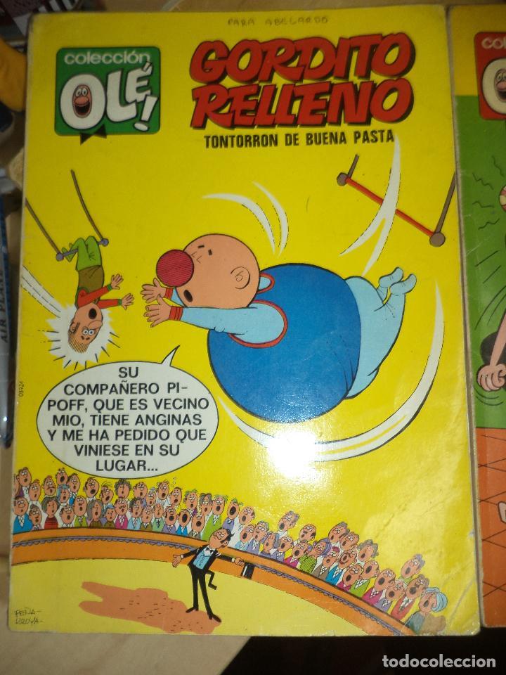 Tebeos: Lote OLÉ 1ªEdición 1971.Las Hermanas Gilda y Gordito Relleno.Numerados en lomo.Bruguera. - Foto 2 - 77247421