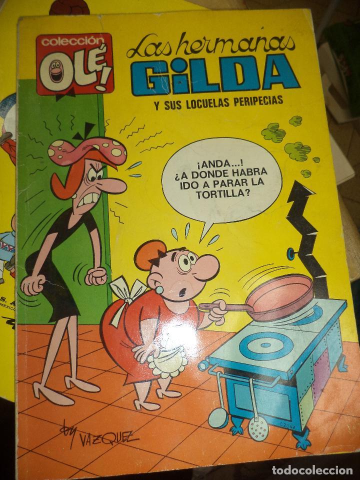 Tebeos: Lote OLÉ 1ªEdición 1971.Las Hermanas Gilda y Gordito Relleno.Numerados en lomo.Bruguera. - Foto 4 - 77247421