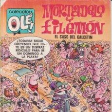 Tebeos: COMIC OLÉ! -MORTADELO Y FILEMÓN- Nº 128-M.80 FRMTO.ORGNAL.1ª ED.1988 EDICIONES.-B- 250 PTAS.. Lote 77252509